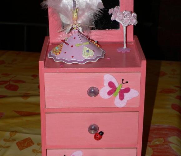 Je décore leur chambre – Boîte à Bijoux