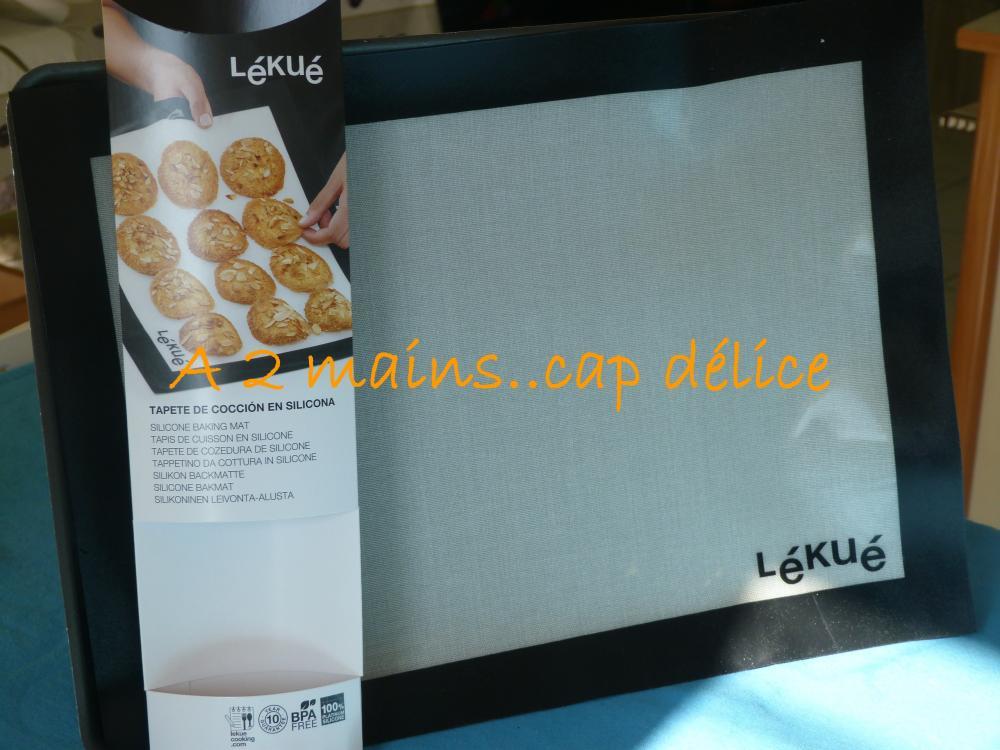 le tapis de cuisson LEKUE (Blog Zôdio)