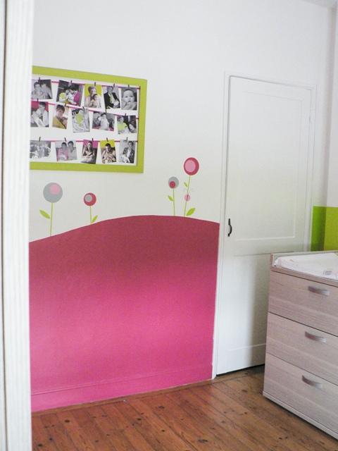 Quelques coups de pinceaux pour la chambre de margot for Deco murale zodio