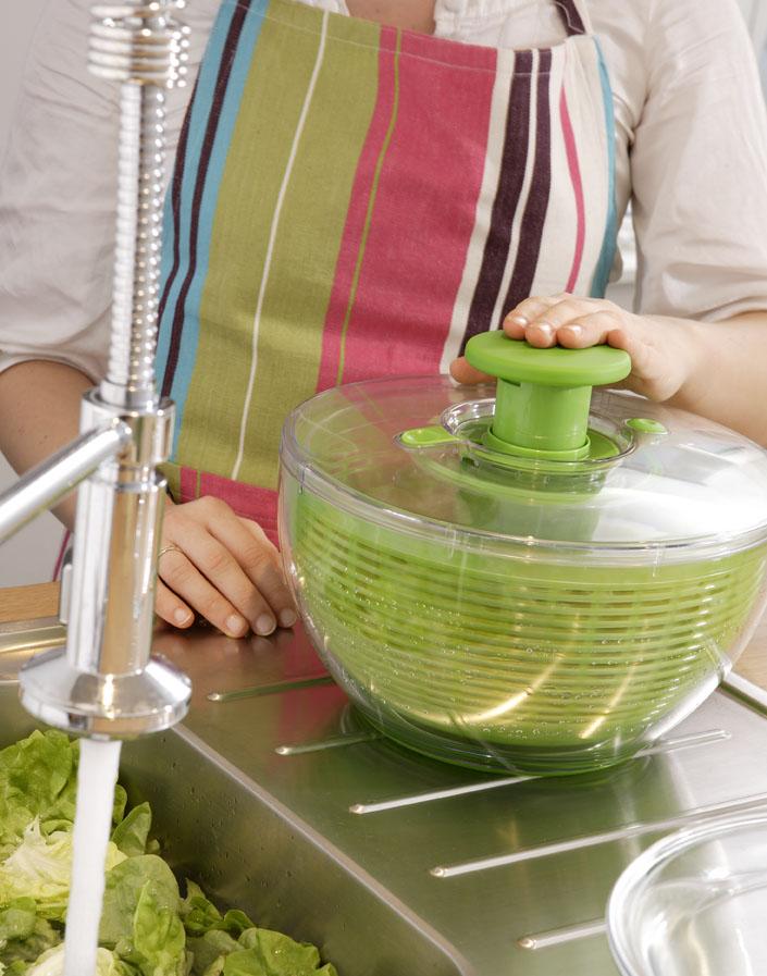 Nos Coups de Coeur Zôdio: l'essoreuse à salade OXO