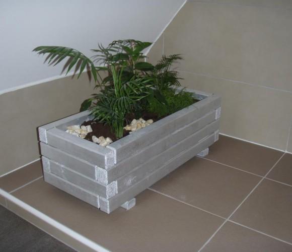 Quand les plantes s'invitent dans la salle de bains!