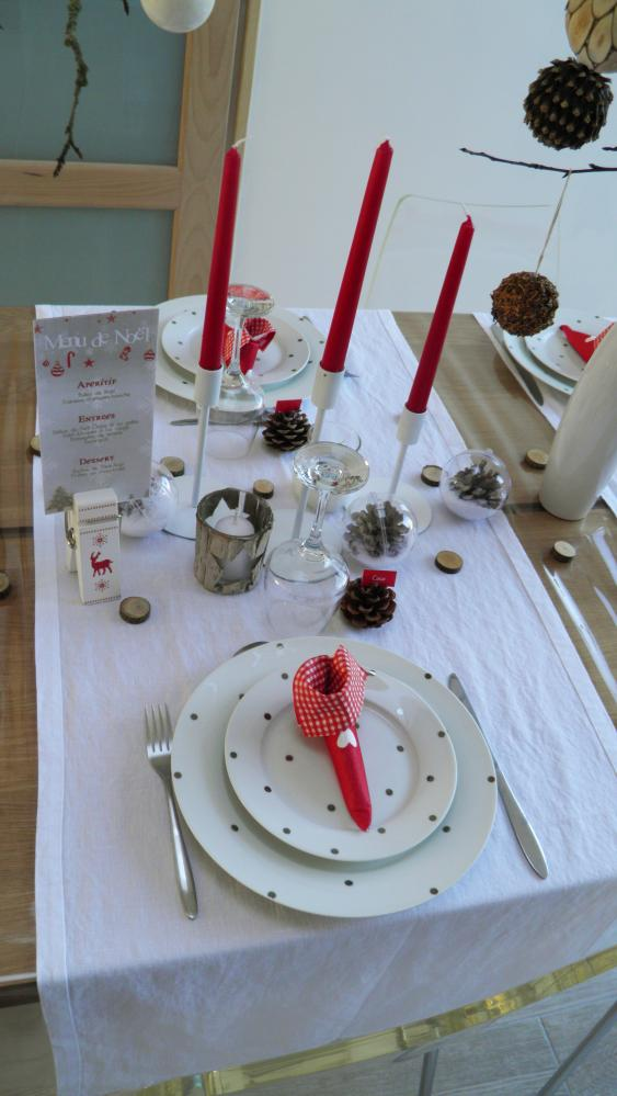 Ma table de no l esprit scandinave blog z dio - Table de noel scandinave ...