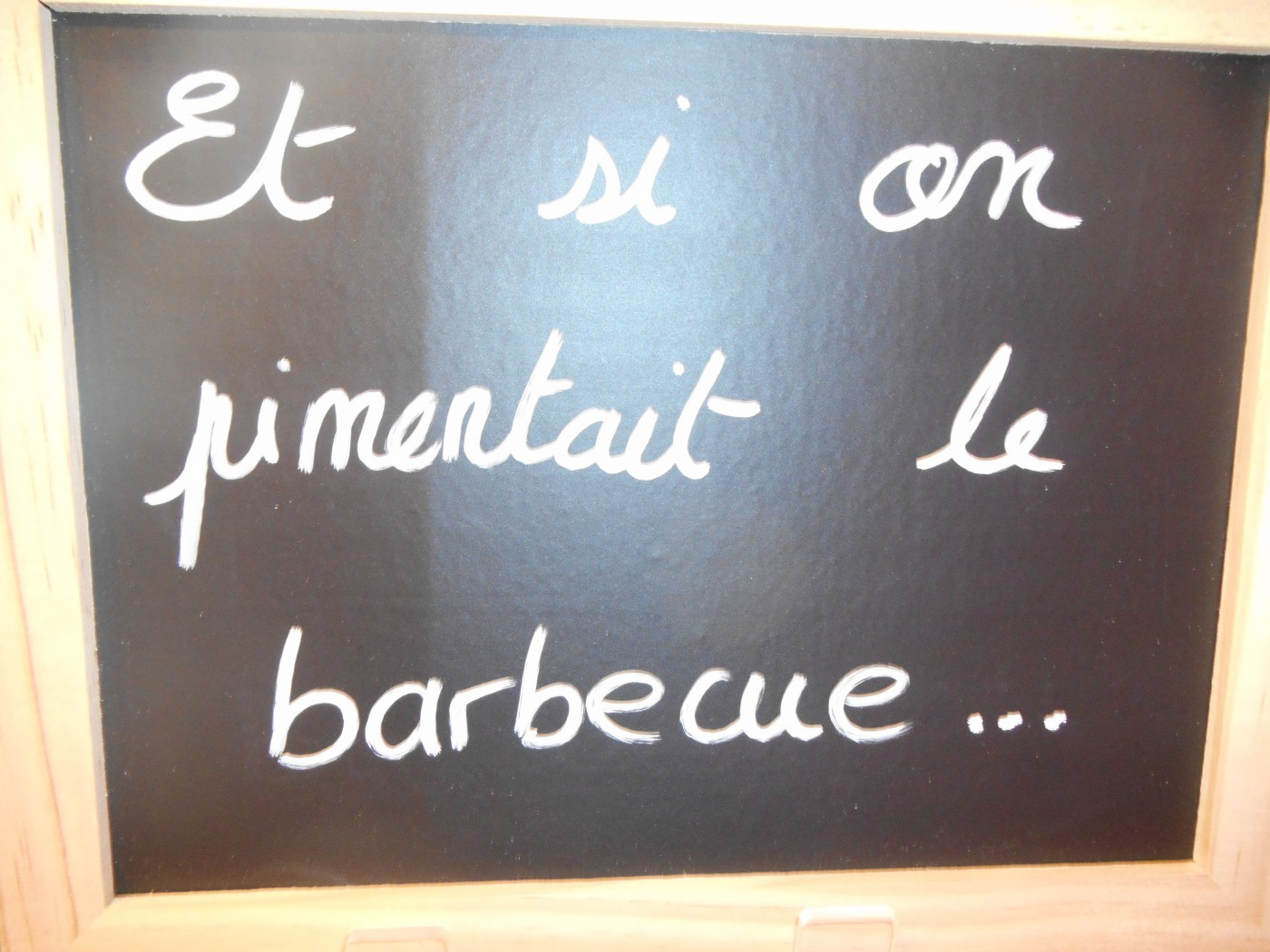 Ce weekend c'est barbecue!!!!