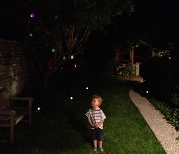 Déco J'ai testé pour vous la guirlande lumineuse pour le jardin