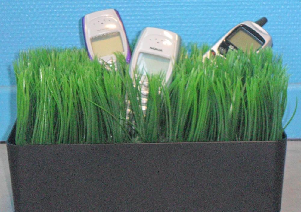 Des téléphones qui se mettent au vert
