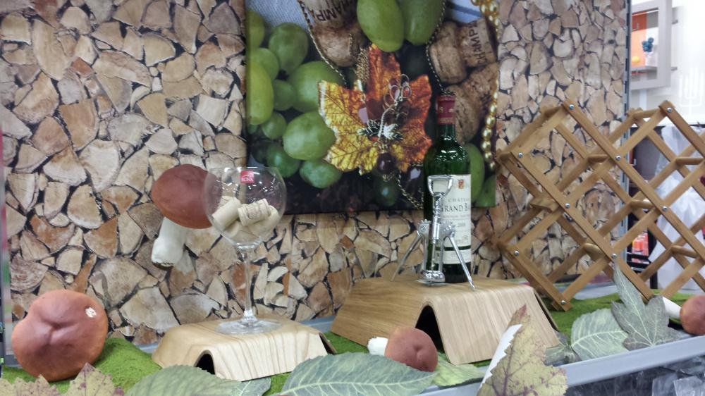 une table aux couleurs des vendanges! (blog zôdio)