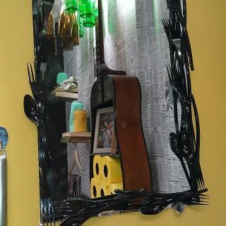 D tournement d 39 objets pour d corer votre wc blog z dio for Miroir zodio
