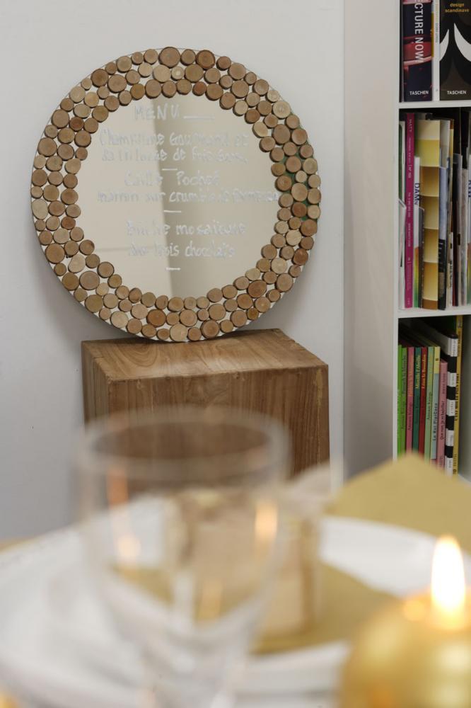 Miroir rondin de bois blog z dio for Miroir zodio