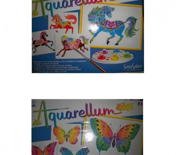 J'ai testé pour vos enfants : l'Aquarellum !