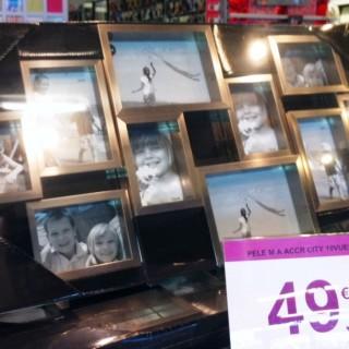 Zoé chez Zodio : un maxi cadre photo pour ma soeur Karine !mais pas que...