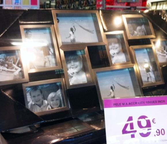 Zoé chez Zodio : un maxi cadre photo pour ma soeur Karine !mais pas que…