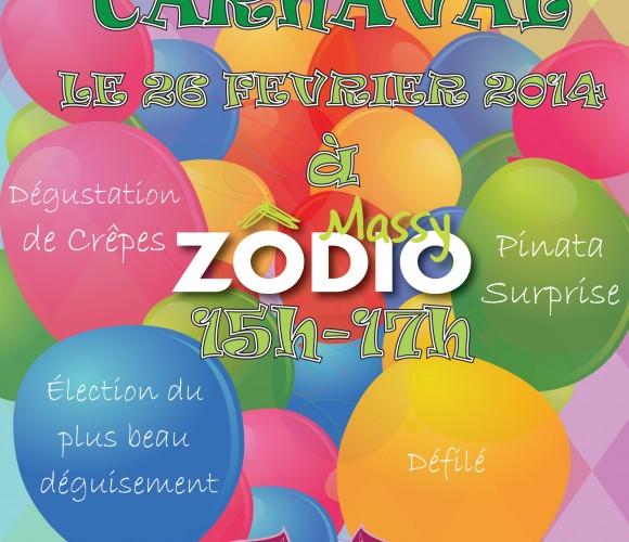 Carnaval de ZÔDIO MASSY le mercredi 26 février 2014