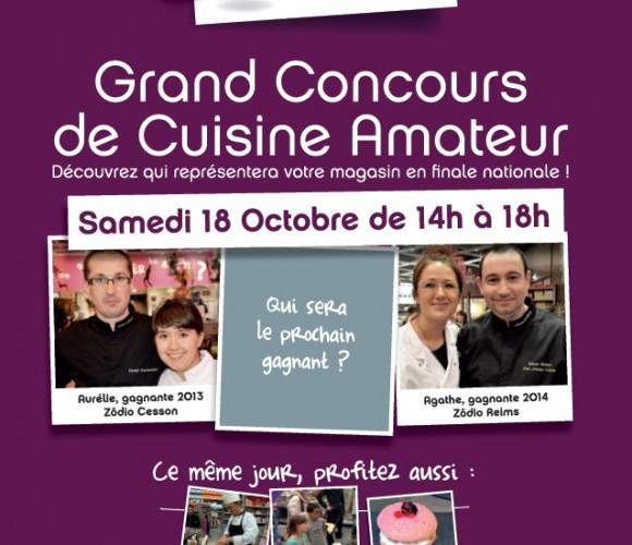 Inscription – concours de cuisine Les Toqués chez Zôdio: c'est maintenant !