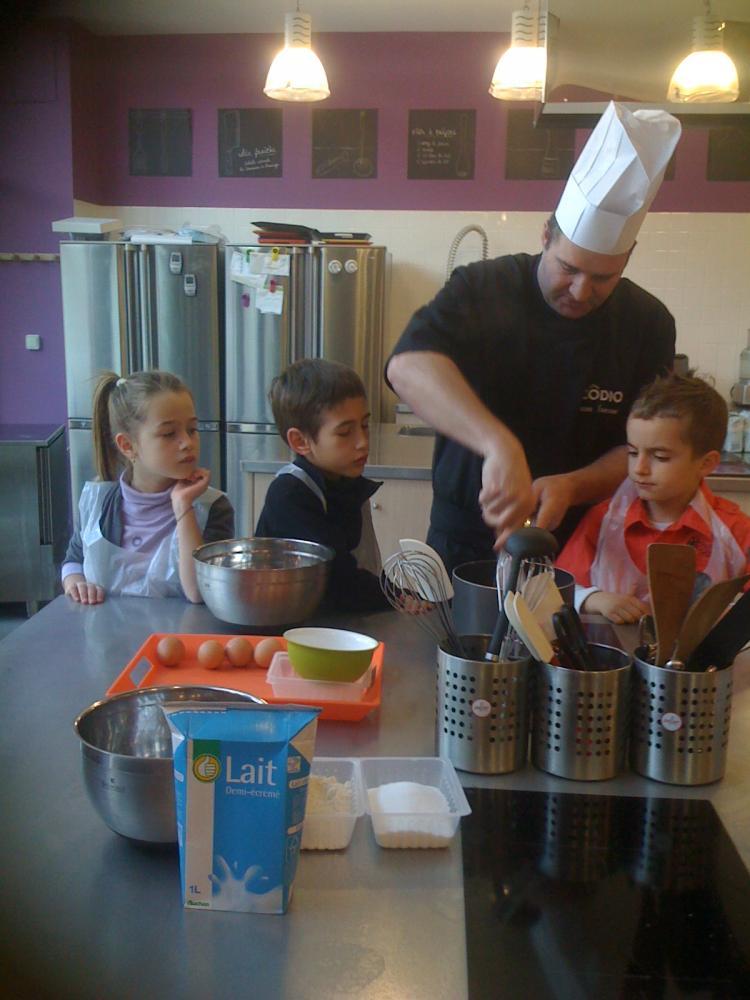 Religieuses au chocolat avec les enfants blog z dio for Zodio cours cuisine