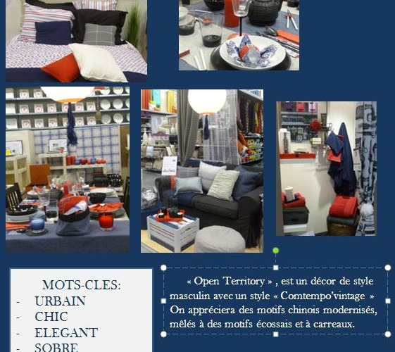 Le décor « Open Territory »