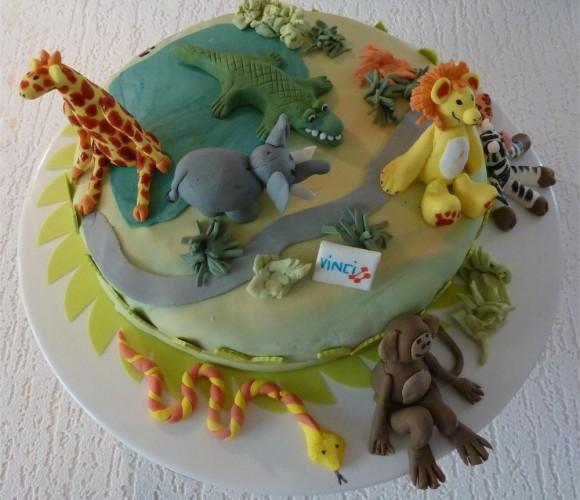 Gâteaux décorés pour enfants