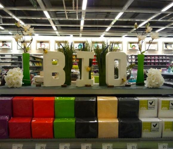 Manger Bio c'est bien, le manger dans la vaisselle jetable Bio c'est mieux!