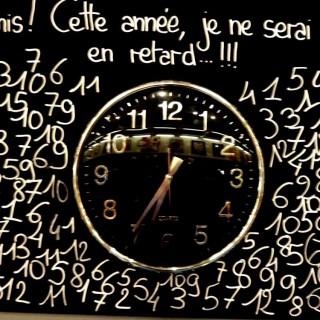 une horloge pour la rentrée!