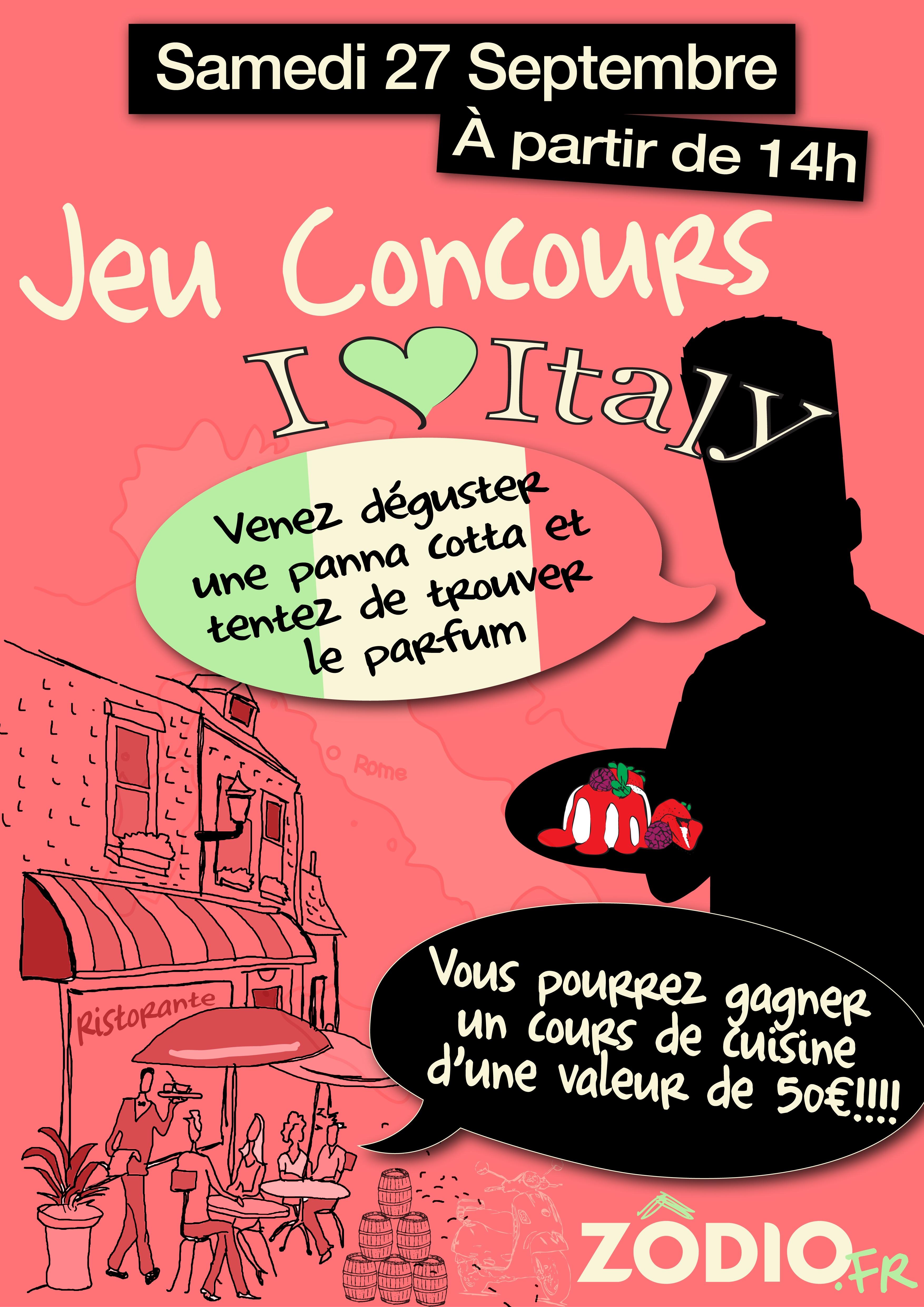 Concours panna cotta samedi 27 09 blog z dio - Zodio chambourcy atelier cuisine ...