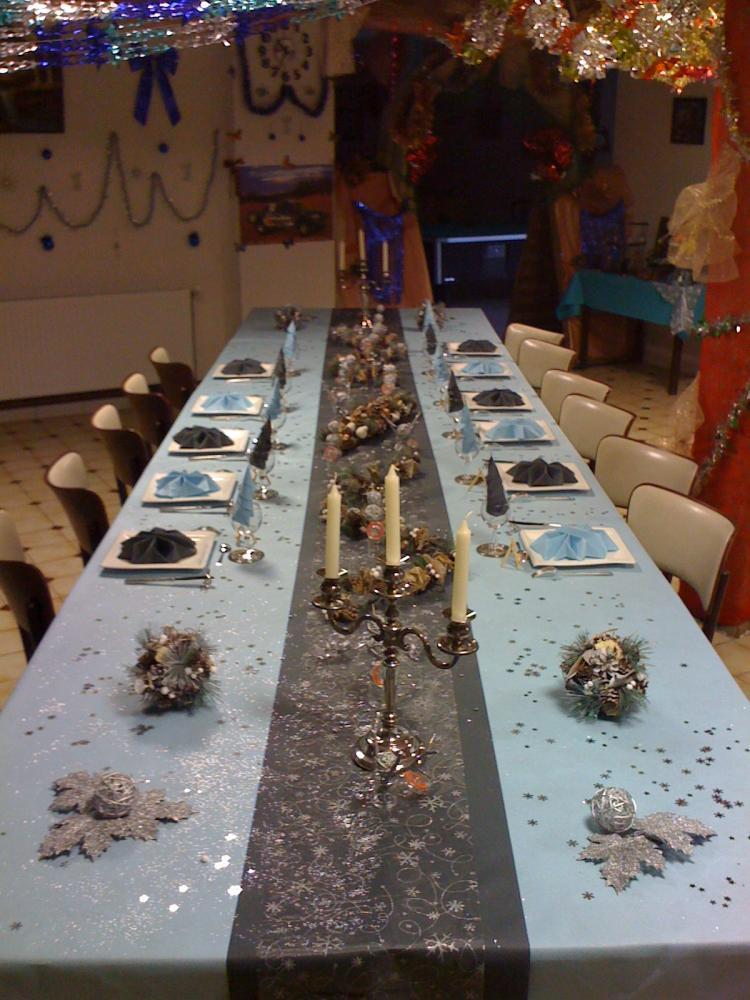 Ma décoration de table!