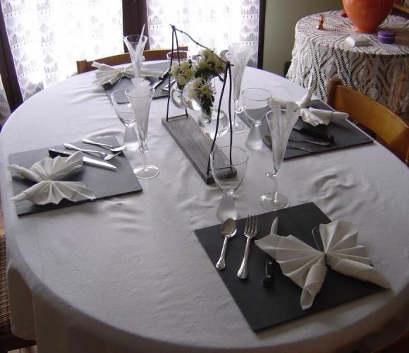 Table pour l'anniversaire de Maman
