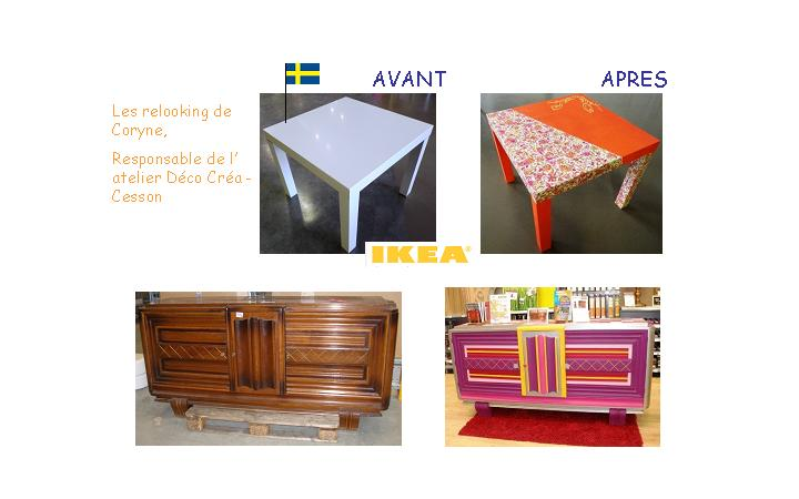 Relooking meuble ikea buffet00 country home decor for Meuble tv zodio