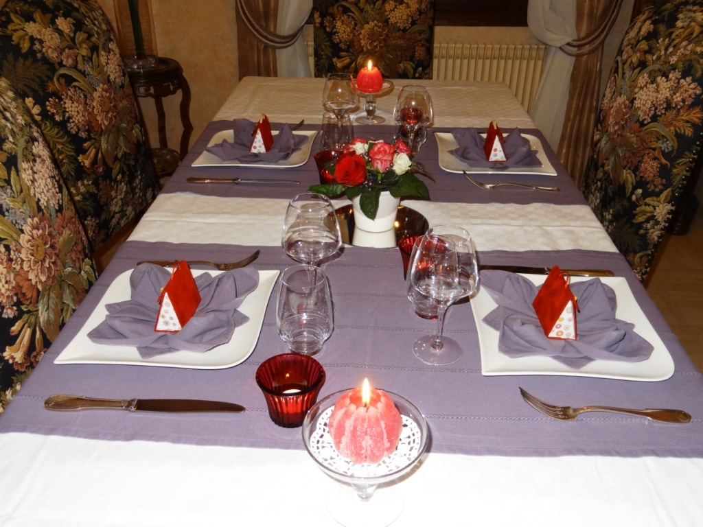 Table de saint valentin blog z dio for Table saint valentin