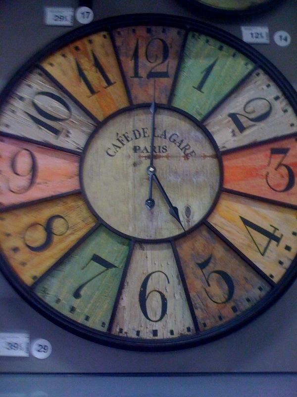 Pour noel j 39 ai choisi d 39 offrir ma marraine une horloge for Horloge zodio