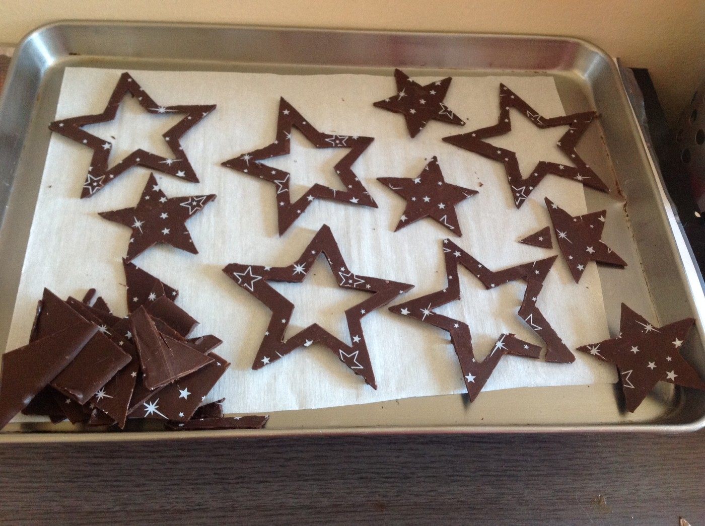 Decor Pour Buche En Chocolat Noel Europeen 2019