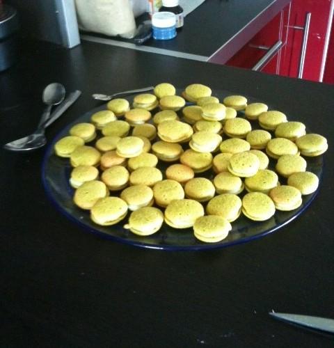 J'ai testé les plaques de silicone pour macarons et les colorants alimentaires