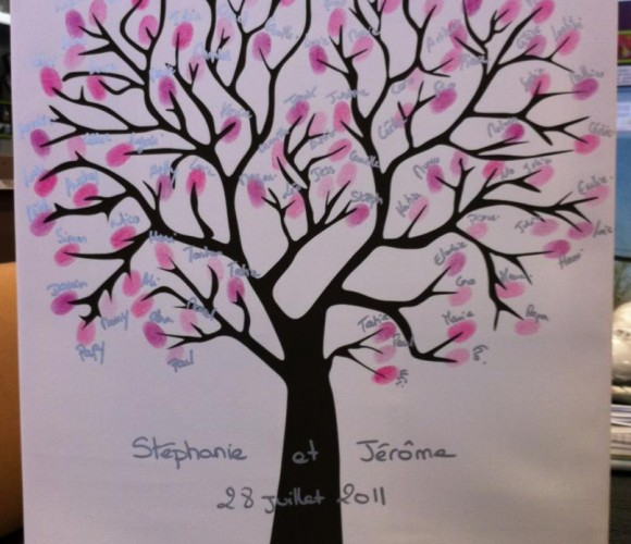 Nouveautés : Zodio Avignon vous propose désormais son arbre à empreintes !