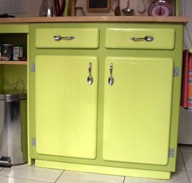 Claire et ses id es pas ch res avec des couverts blog z dio - Poignee de meuble originale ...