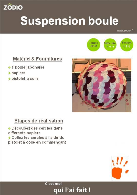 20 id es pour relooker des boules de papier chinoises ou japonaises id e - Suspension plusieurs boules ...