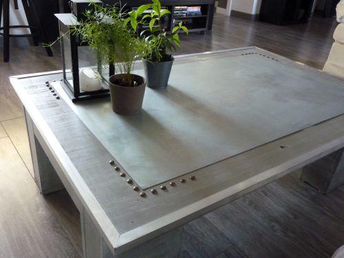 Basseblog De Table Ma Relook Style Loft Zôdio BtrdhCxsQo