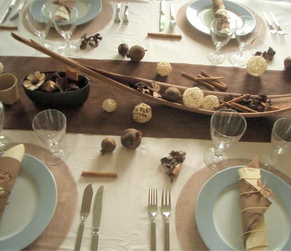 Ma déco de table avec mes produits Zôdio