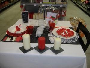 Donnez de l'amour à votre déco de table pour votre Valentin(e) !