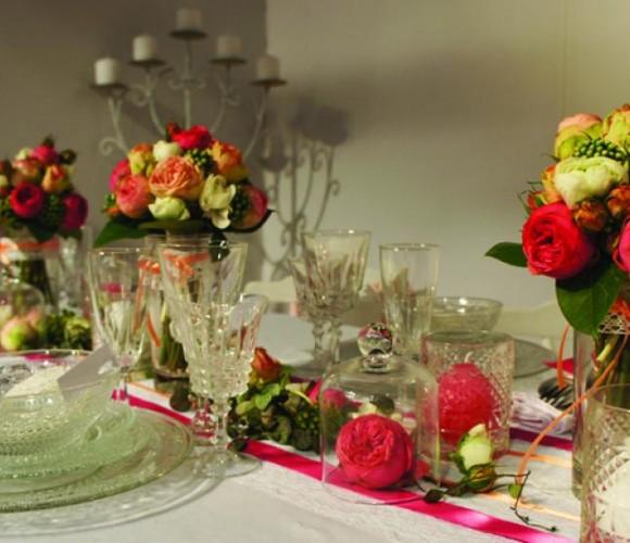 Décoration de salle mariage Bohème Chic