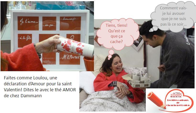 Idée cadeau de Chouchou et Loulou: Petit déjeuner romantique