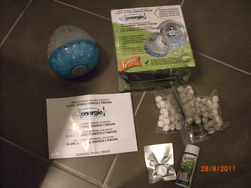 J'ai testé pour vous une boule de lavage avec lessive et additifs intégrés : C'est de la balle !