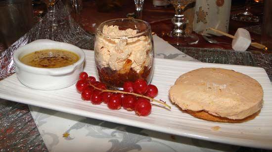 Idee Deco assiette de foie gras en entrée  Trilogie de Foie Gras (Blog ZÃ