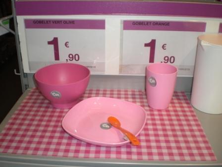 Une nouvelle vaisselle pour les enfants !