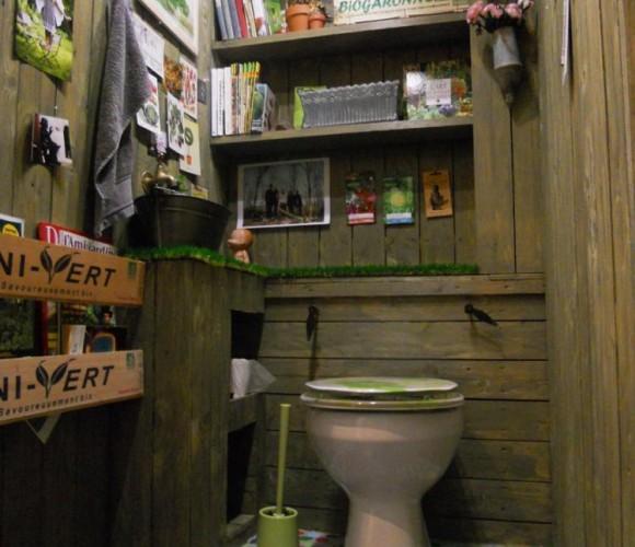 Mes Wc… comme une cabane de jardin