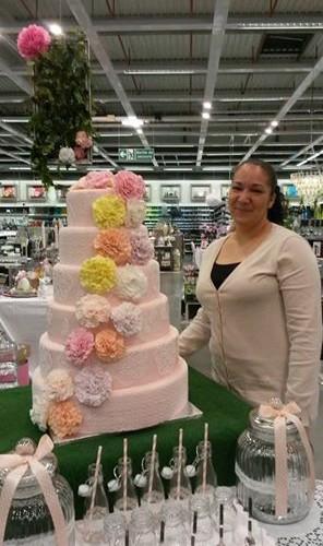 Le Wedding Cake de la Maison Rose…
