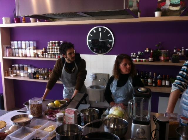 L 39 quipe cuisine aux fourneaux avec ludovic blog z dio for Zodio cours cuisine